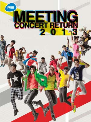 RS Meeting Concert Return 2013 poster