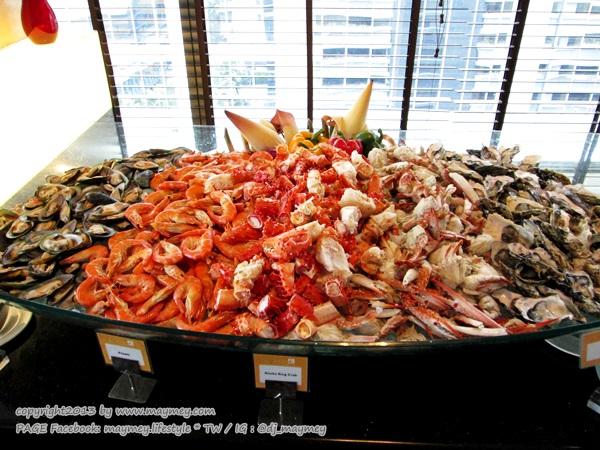 Seafood แกรนด์ ซันเดย์ บรั้นช์ ที่ เดอะสแควร์ โรงแรมโนโวเทล กรุงเทพ เพลินจิต สุขุมวิท