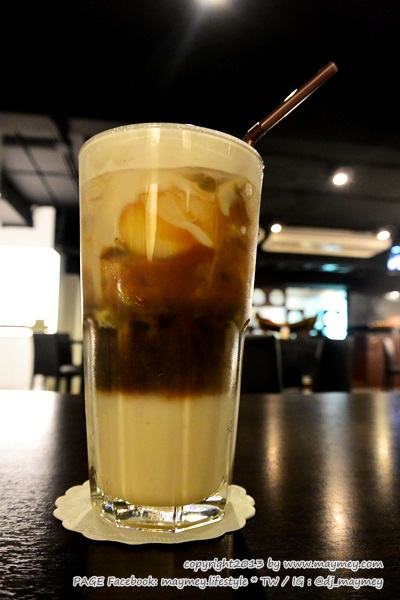 ice egg latte My Cafe' Thai Music Gallery