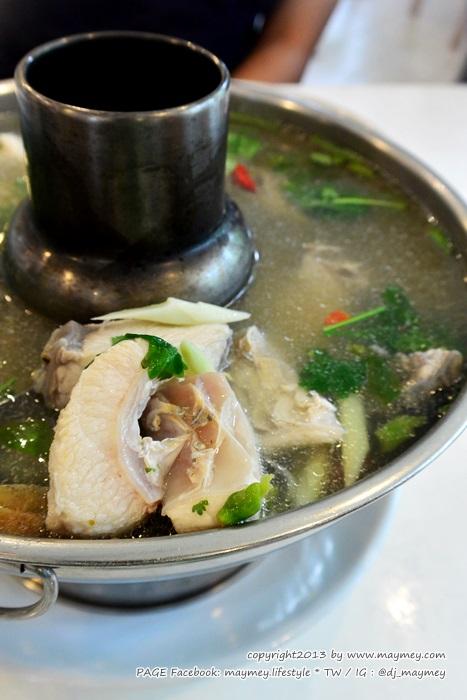 ปลาต้มระกำใส่กระวาน ร้านจันทรโภชนา