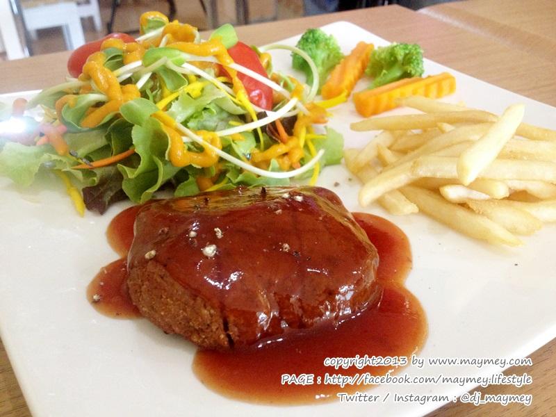 Steak Vegan ร้าน Loving Hut รามอินทรา 51