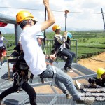 Zipline singha park the adventure @ Singha Park เชียงราย