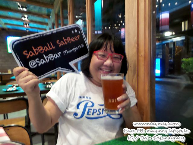 Sab Bar แซ่บบาร์ ร้านใหม่ แนว Sport bar in Bangkok ย่านทองหล่อ 13