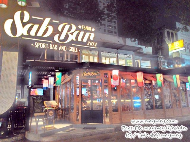 Sab Bar ร้านใหม่ แนว Sport bar in Bangkok ย่านทองหล่อ 13