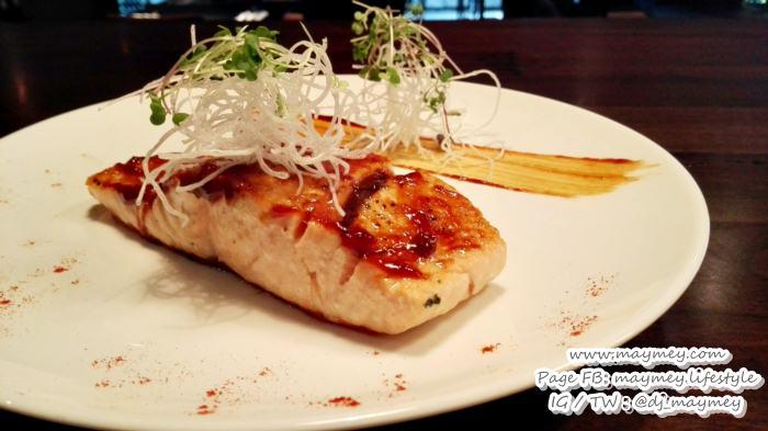 เมนู สเต็กปลาแซลมอน (Hoisin Salmon)