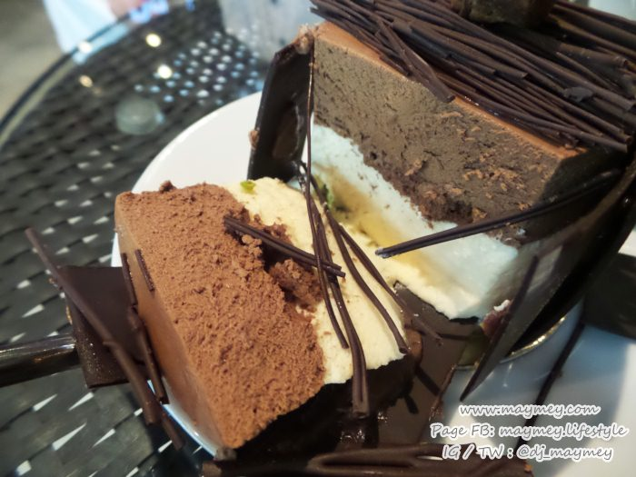 ด้านใน Criollo Grand Cru Chocolate Cake