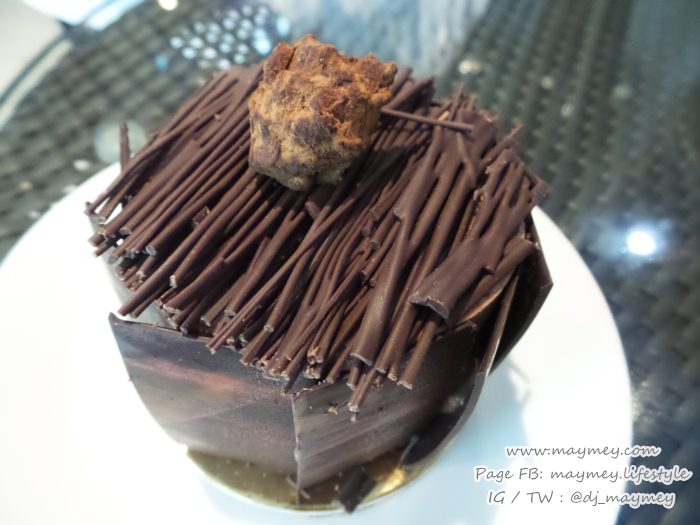 Criollo Grand Cru Chocolate Cake โดยเชฟเดช