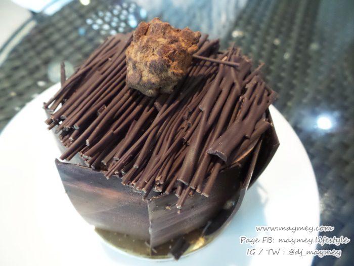 Criollo Grand Cru Chocolate Cake โดยเชฟเดช