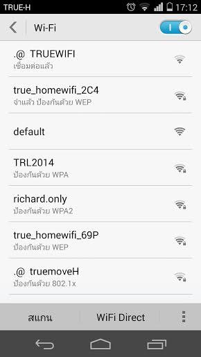 setting wifi