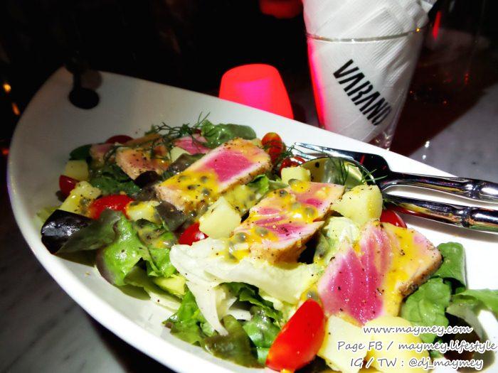 Varano Salad at Varano wine bar & cafe The UP Rama 3