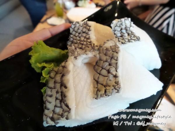ปลาหิมะ เมนูอาหาร Miharu Japanese Eatery