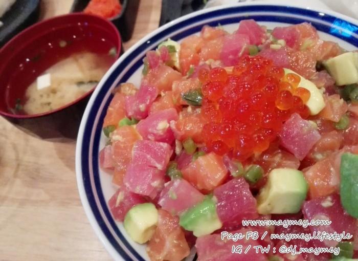 SalmonMaguro Kizami wasabi don2