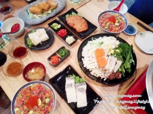 เมนูอาหารร้านมิฮารุ