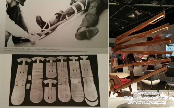 เฝือกไม้อัดขึ้นรูป-หนึ่งในงานออกแบบสร้างชื่อของชาร์ลส์และเรย์