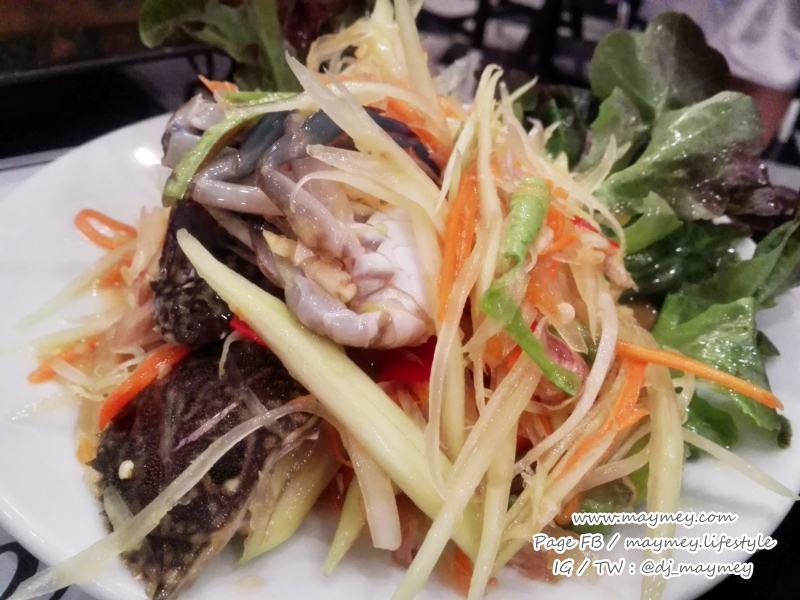 ส้มตำนางฟ้า-Laemgate Seafood