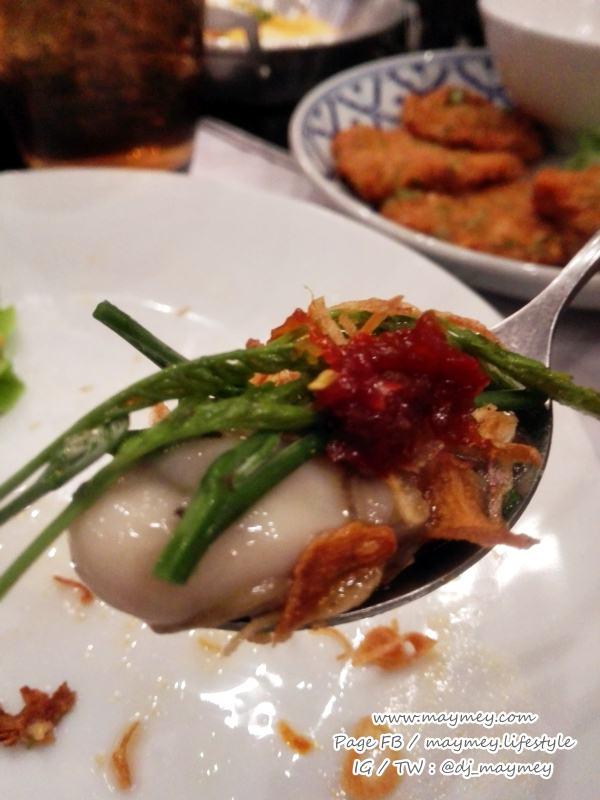 หอยนางรมกับเครื่อง-Laemgate Seafood