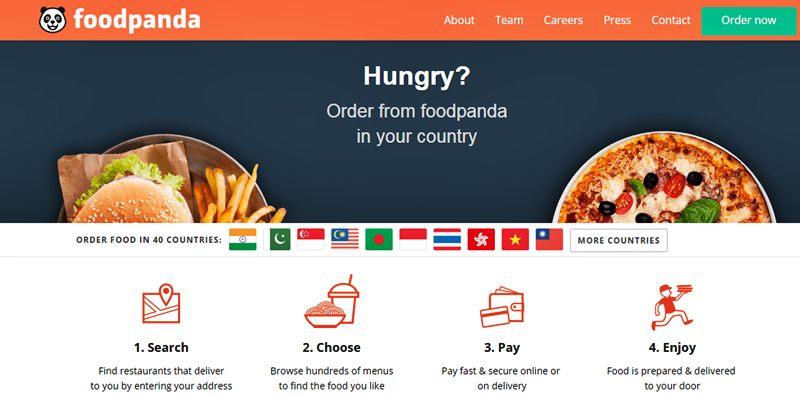 ในเวบ foodpanda.com