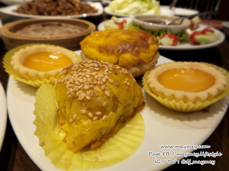 ขนมปังอบไส้หมูแดง ซาลาเปาหิมะไส้หมูแดง ทาร์ตไข่ ขนมปังอบไส้ไก่ พายหมูแดง