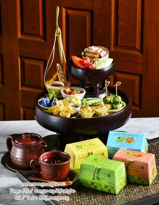 Jim Thompson Mulberry Herbal Tea