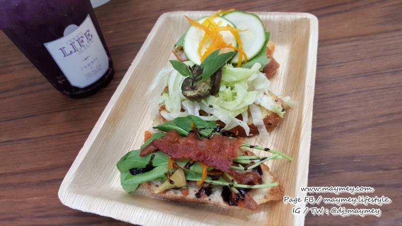 Creative Thai Sandwich เซตแซนวิชหน้าเปิดรสไทย