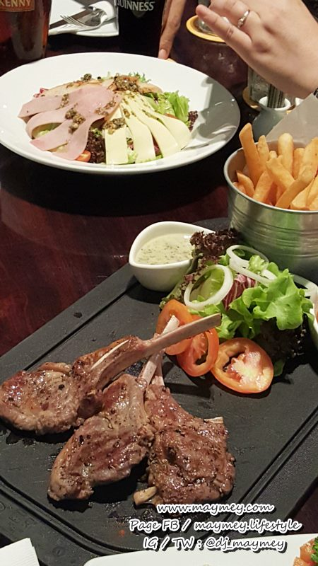 Grilled Trio of Imported Lamb Chops