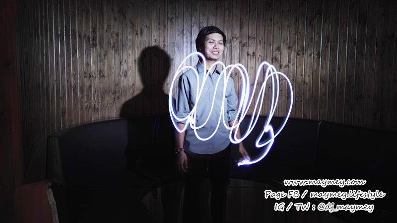 สนุกดี Light Painting - mode - Huawei P8