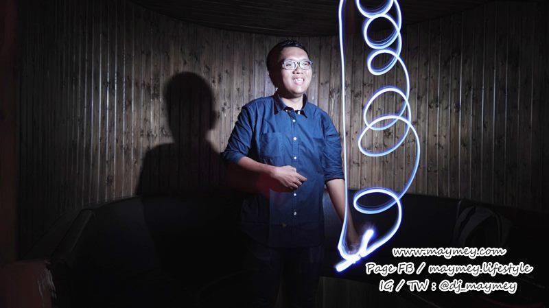 ลองเล่นโหมด Light Painting - mode - Huawei P8
