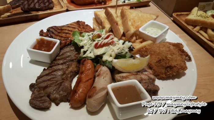 Giant Grilled Combo - ร้าน Hungry Nerd