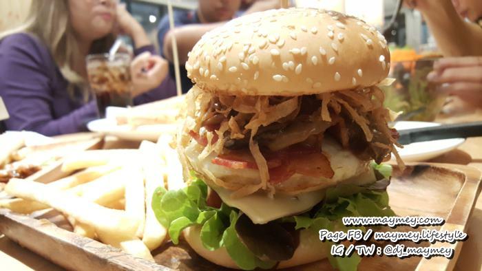 Premium Burger เบอร์เกอร์ขนาดใหญ่ เครื่องแน่น