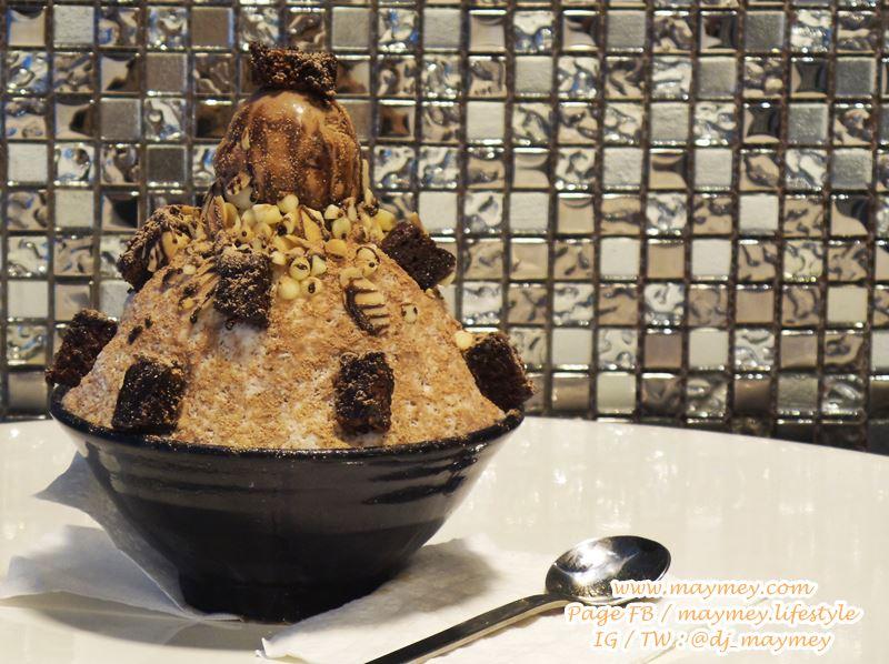 เมนู Brownie Choco Snowflake ร้าน Show Tree