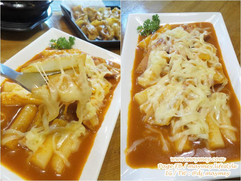เมนูที่ 4 ร้านที่ 4: เมนู Cheese Tteokbokki ร้าน Bonchon Chicken