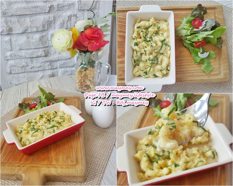 Bake Macaroni with Cheese