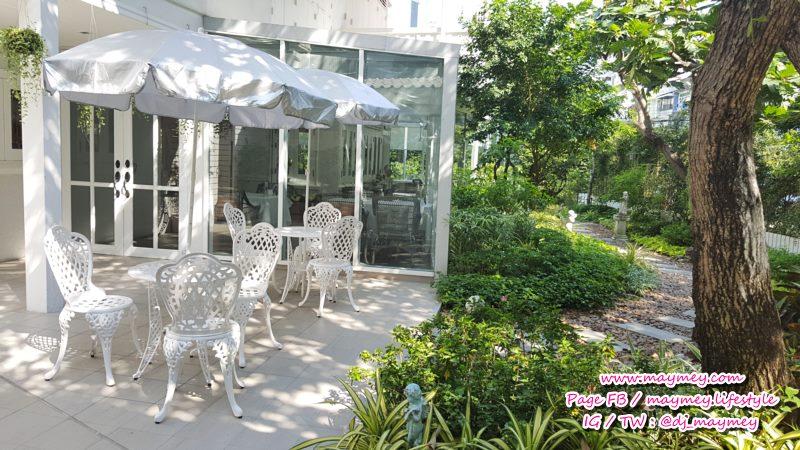 สวนสวยในร้าน Chan & Yupa Tearoom