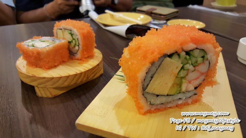 ร้านซูชิบอย Sushi Boy กับเมนู Big California Roll 79 บาท