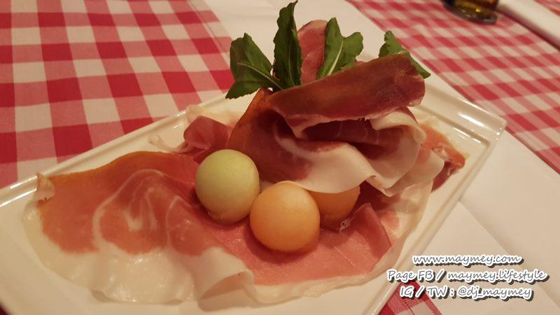 Parma ham and Honey melon