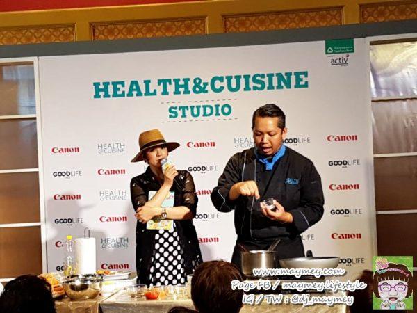 โซน Health&Cuisine Café งาน Good Life Fair ครั้งที่ 2