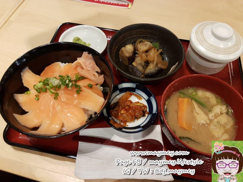 Salmon Sushi Bowl-sukiya