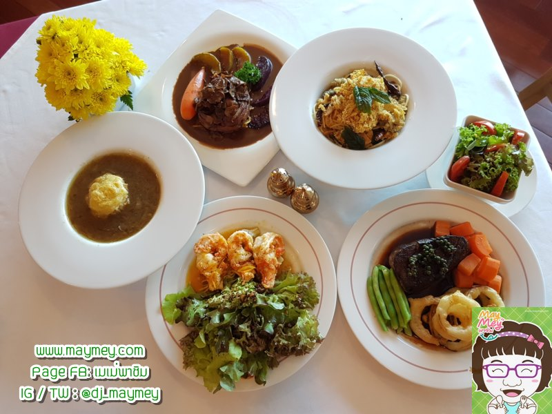 ร้าน The Cup Restaurant & Tea Room