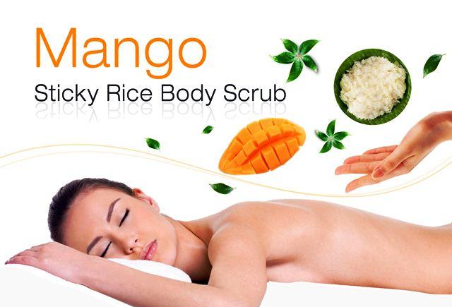 Free Mango Sticky Rice Body Scrub